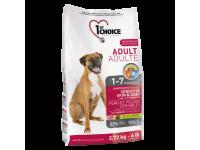 1St Choice Adult Sensitive, корм д/собак всех пород (ягненок)
