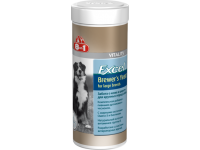 8 in 1, Excel, Brewers Yeast, пивные дрожжи д/собак крупных пород (80 таб.)
