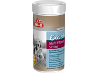 8 in 1, Excel, Multi Vitamin Senior, мультивитамины д/пожилых собак (70 таб.)