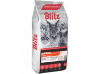 Blitz, Adult, корм д/кошек (домашняя птица)