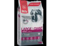 Blitz, Adult, корм д/собак крупных и гигантских пород (курица)