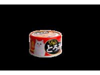 CIAO, влажный корм д/кошек (краб с вырезкой тунца)