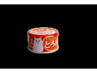 CIAO, влажный корм д/кошек (вырезка тунца с гребешком)