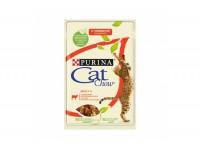 Cat Chow, Adult, влажный корм д/кошек (говядина в желе)