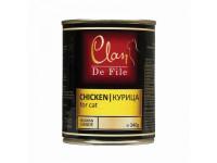 Clan,De File, влажный корм д/кошек (курица)