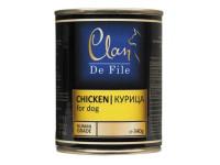 Clan,De File, влажный корм д/собак (курица)