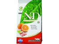 Farmina, N&D, GF, Adult, корм д/кошек б/з (рыба/апельсин)