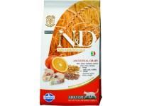 Farmina, N&D, LG, Adult, корм д/кошек н/з (треска/апельсин)