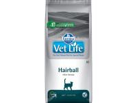 Farmina, Vet Life, Hairball, корм д/кошек (вывод шерсти)