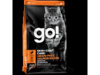 GO!, Skin+Coat, корм д/кошек и котят (лосось)