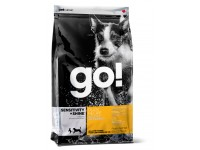 GO!, Sensitivity+Shine, корм д/собак и щенков (утка/овсянка)