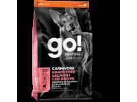 GO!, Carnivore GF, корм д/собак и щенков (лосось/треска)