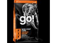 GO!, Skin+Coat, корм д/собак и щенков (лосось/овсянка)