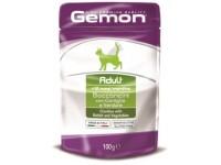 Gemon, Adult, влажный корм д/кошек (кролик/овощи)