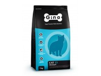 Gina, Cat 33, корм д/активных кошек (курица/ягненок)