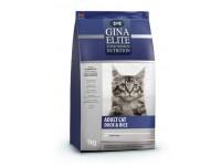 Gina, Elite, корм д/кошек (утка)