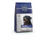 Gina, Elite, корм д/собак всех пород (курица/рис)