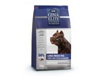 Gina, Elite, корм д/собак крупных пород (индейка/батат/клюква)