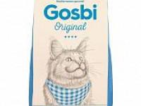 Gosby, Original, Sterilized&Hairball, корм д/кошек (курица/рис)