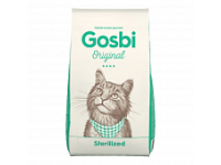 Gosby, Original, Sterilized, корм д/стер. кошек и кастр. котов (курица/рис)