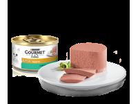Gourmet, Gold, влажный корм д/кошек паштет (кролик)