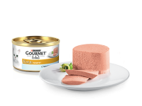 Gourmet, Gold, влажный корм д/кошек паштет (тунец)