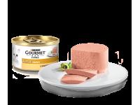 Gourmet, Gold, влажный корм д/кошек паштет (индейка)