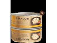 Grandorf, куриная грудка с утиным филе, влажный корм д/кошек