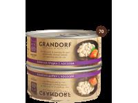 Grandorf, куриная грудка с лососем, влажный корм д/кошек