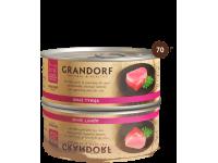 Grandorf, филе тунца в с/соку, влажный корм д/кошек