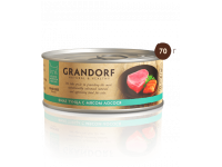 Grandorf, филе тунца с лососем, влажный корм д/кошек