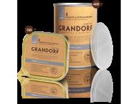 Grandorf, кролик, влажный корм д/собак