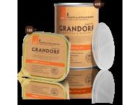 Grandorf, индейка, влажный корм д/собак