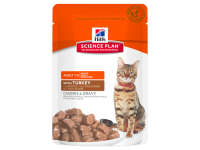 Hill's, SP, Optimal Care, влажный корм д/кошек (индейка)