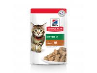 Hill's, SP, Kitten, влажный корм д/котят (индейка)