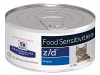 Hill's, PD, Z/D, влажный корм д/кошек при аллергии