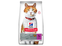 Hill's, SP, Sterilised, корм д/стерил.кошек и кастр.котов (Утка)