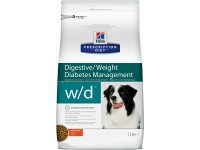Hill's, PD, W/D, корм д/собак при диабете
