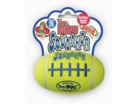 """Kong Air, """"Рэгби"""", жевательная  игрушка средняя д/собак 14 см"""