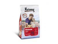 Karmy, Medium Adult, корм д/собак средних пород (Телятина)