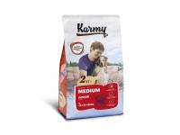 Karmy, Medium Junior, корм д/щенков средних пород (Телятина)