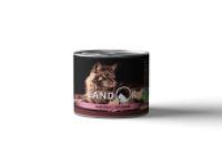 Landor, Sterilised, влажный корм д/стерил. кошек (индейка/клюква)