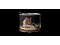 Landor, Adult, влажный корм д/кошек (индейка/кролик)