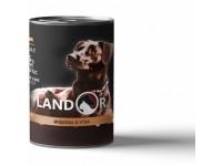 Landor, Adult, влажный корм д/собак (индейка/утка)