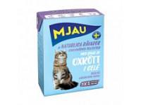 MJAU, влажный корм д/кошек (говядина в желе)