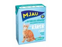 MJAU, влажный корм д/кошек (креветки в соусе)