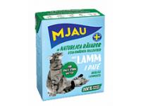 MJAU, влажный корм д/кошек (паштет/ягненок)