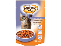 Мнямс, влажный корм д/кошек (ягненок в соусе)