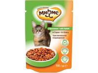 Мнямс, влажный корм д/кошек (кролик в соусе)