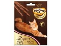 Мнямс, Деликатес, лакомые палочки д/кошек (форель)